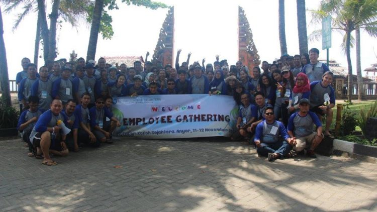 "Employee's Gathering PT. TAKARI KOKOH SEJAHTERA 2017 with theme ""GROW TOGETHER"" at Nuansa Bali Resort, Anyer, Banten on 11 – 12 November 2017"